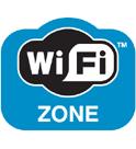 Wi Fi Free Zone Logo