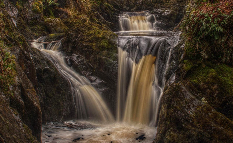 Ingleton Waterfalls Walk Trail is just 20 minutes away