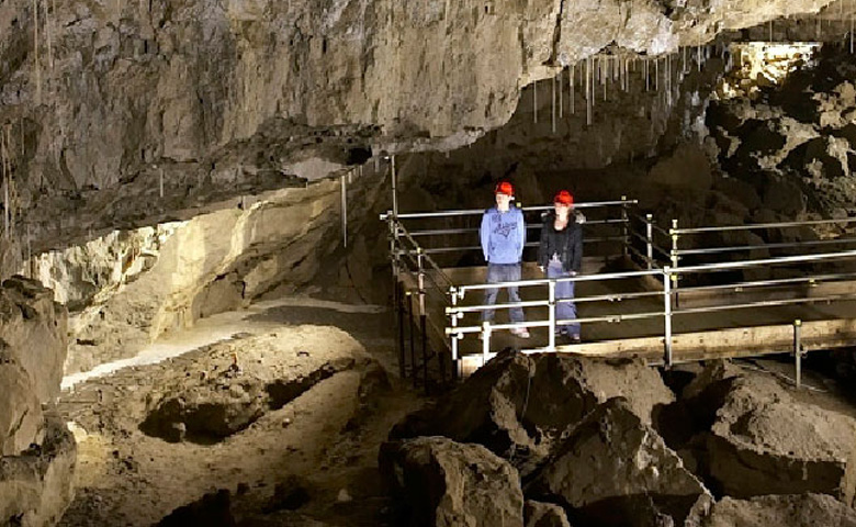 Explore the unique and fascinating features of Yorkshires White Scar Cave, the longest show cave in Britain